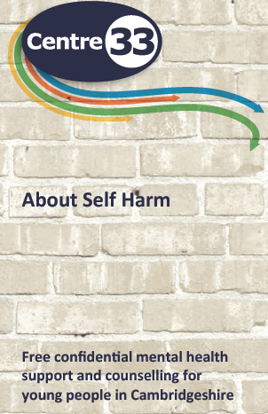 Self harm leaflet