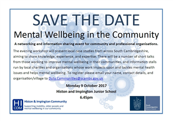Mental Wellbeing in the Community