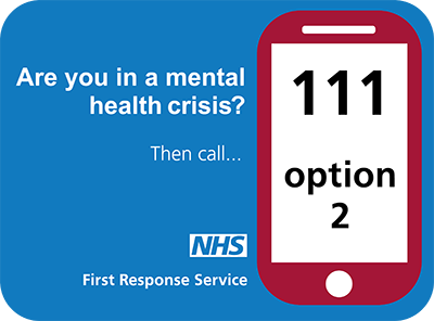 NHS 111 Mental Health Crisis Picture