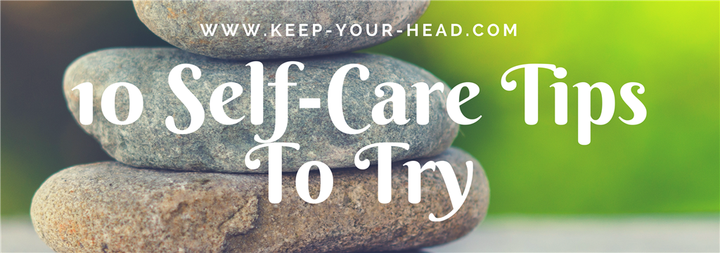 10 Self-care tips to try Banner