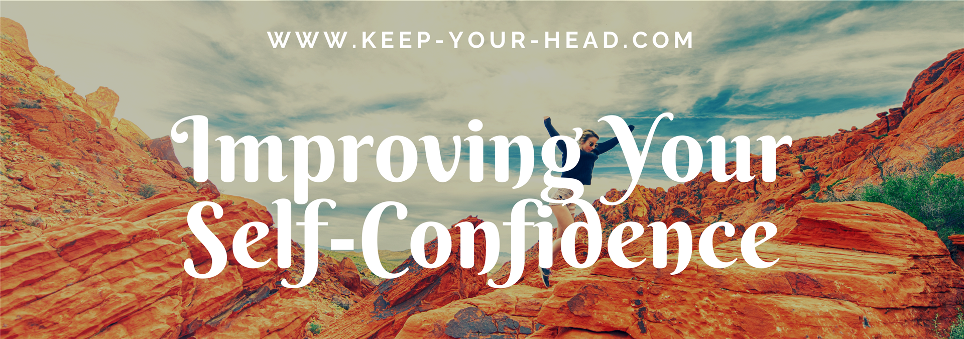 Improving your confidence blog banner