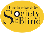 Hunts society for the blind logo