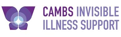 Cambs invisible illness support logo