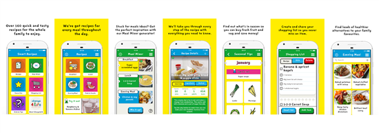smart recipe app