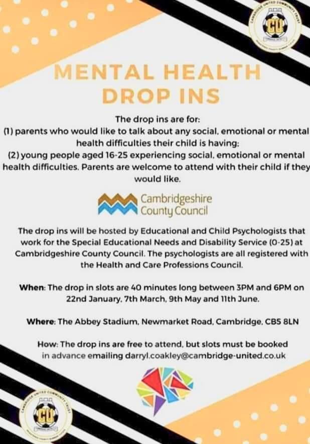 Cambridgeshire & Peterborough Children & Young People Mental